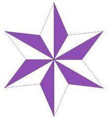 6 Point Star Star Tattoos Book Art Stars