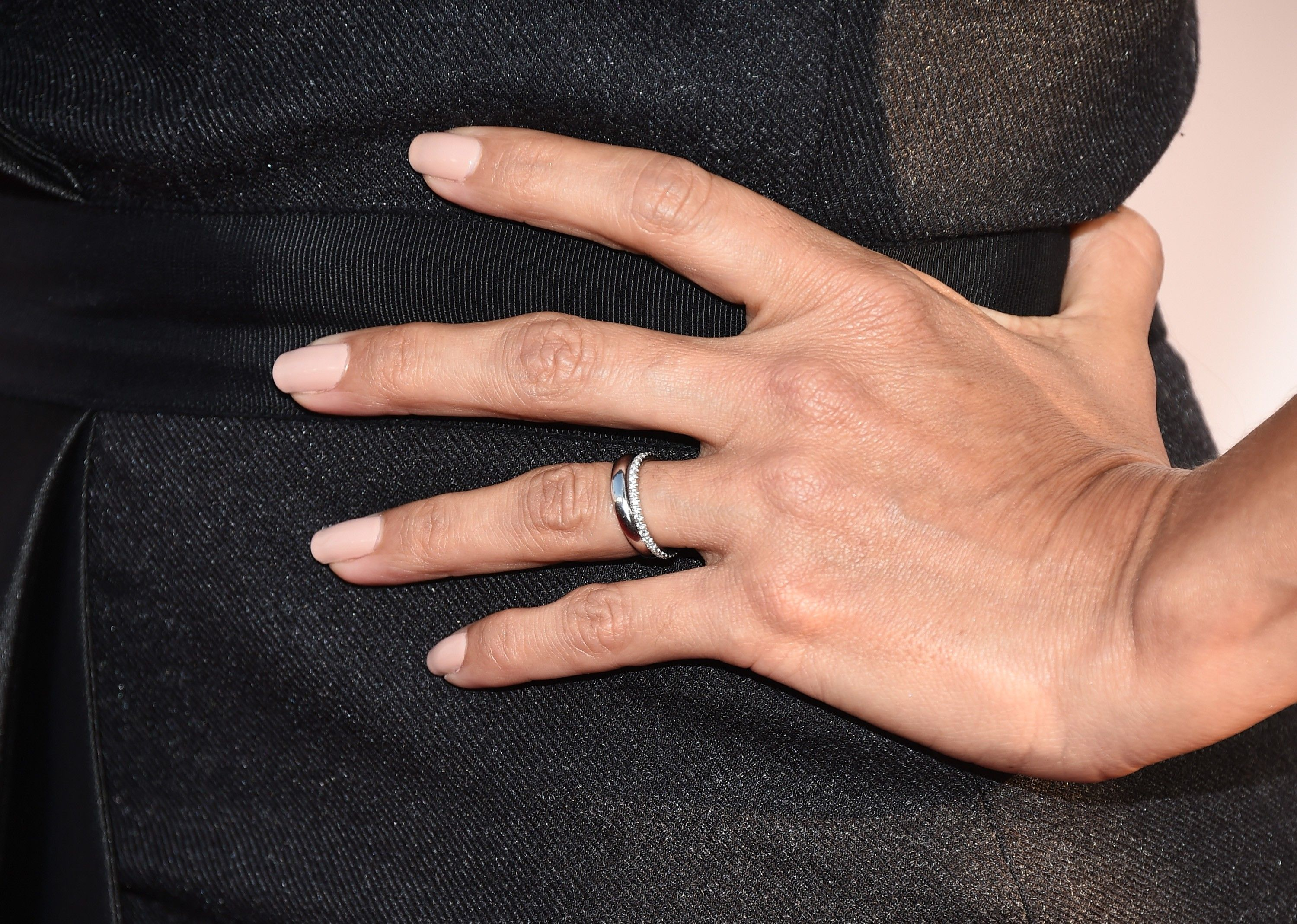 Eva Longoria Swaps Her Engagement Ring for Two Wedding Bands Eva