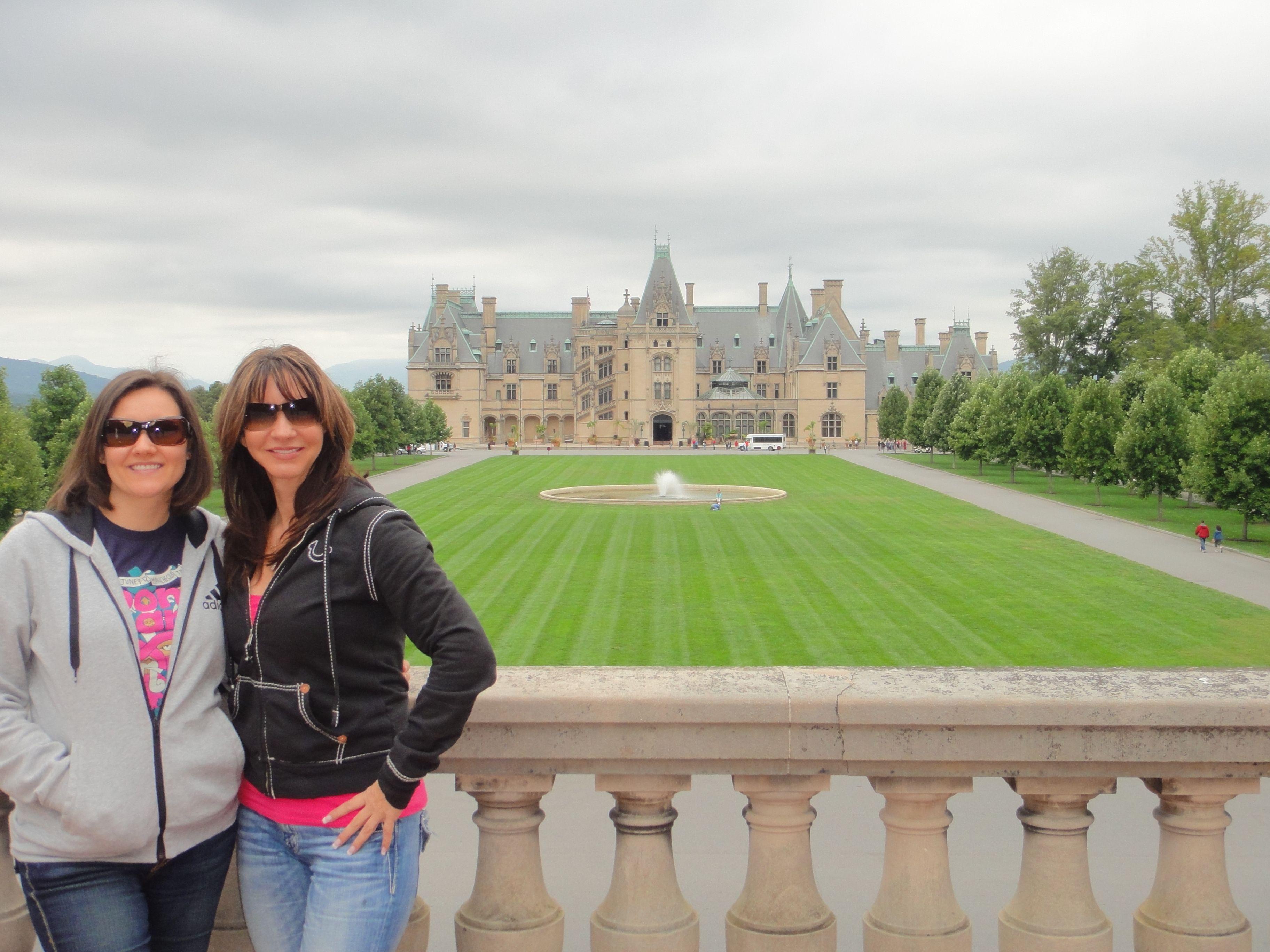Ashley and I at the Biltmore Estates