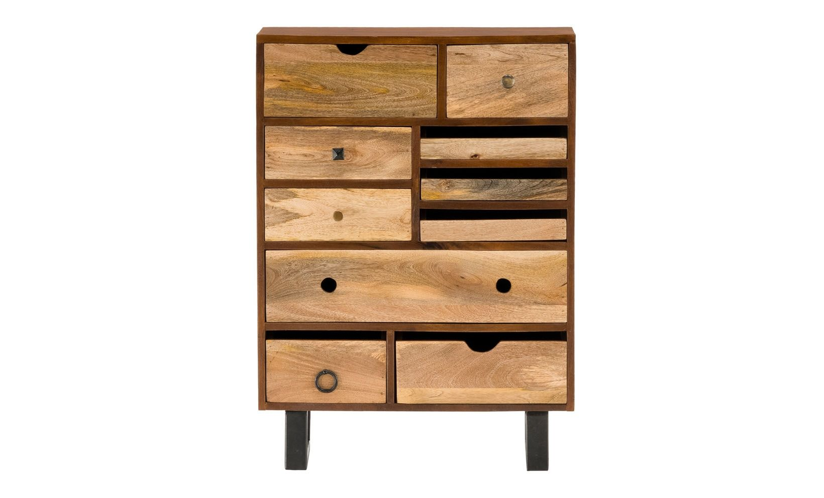 Tray Chest Unique Nightstand Functional Design Storage Drawers