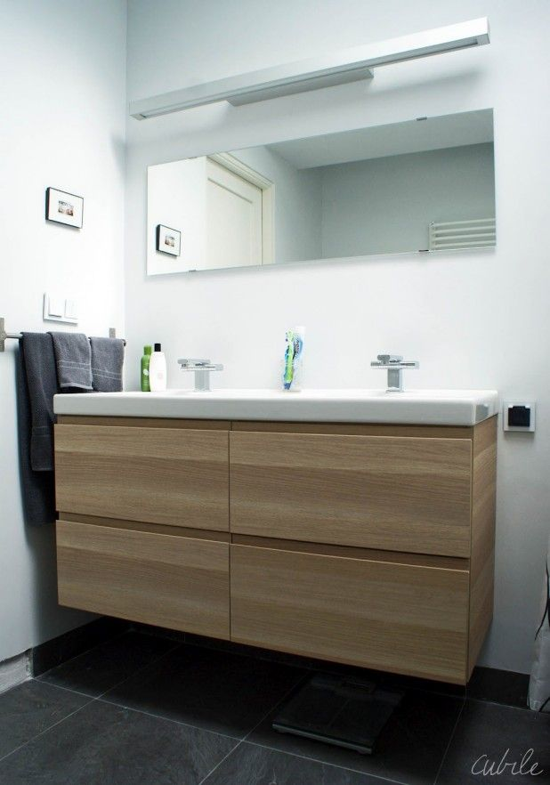 Bathroom Best Ikea Vanity Double Sink Concerning Ikea Badezimmer