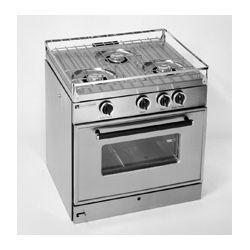 Tasco 3 Burner Propane Stove With Oven 1000
