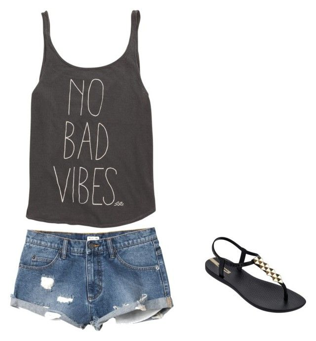 """summer"" by thenamesken on Polyvore featuring Billabong, RVCA and IPANEMA"