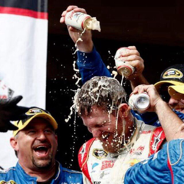 Dale Jr Wins The Pocono 2014 Race