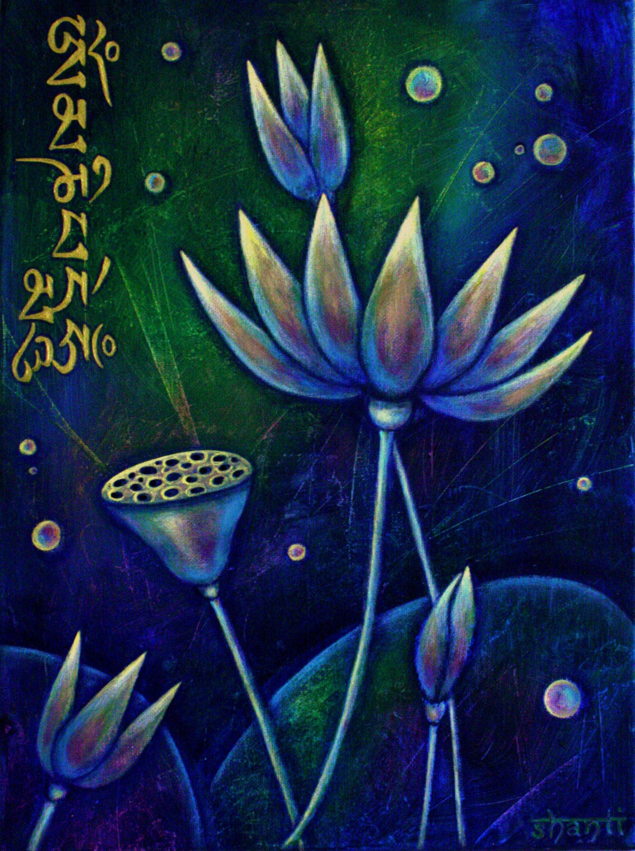 """""""Lotus Flowers"""" by Shanti I.Kassebom"""
