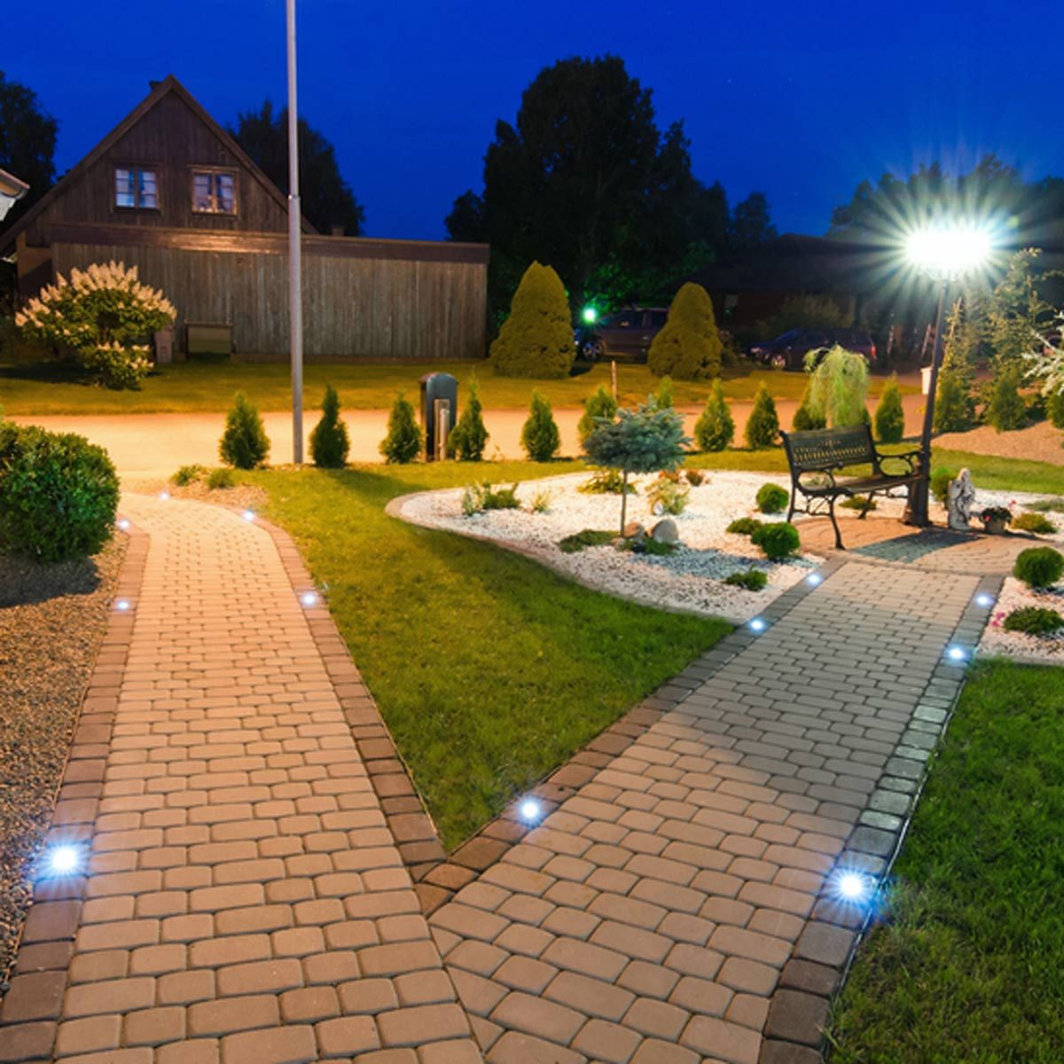 5 Pathway Lighting Tips Ideas Walkway Lights Guide: 14 Outdoor Lighting Trends For 2018