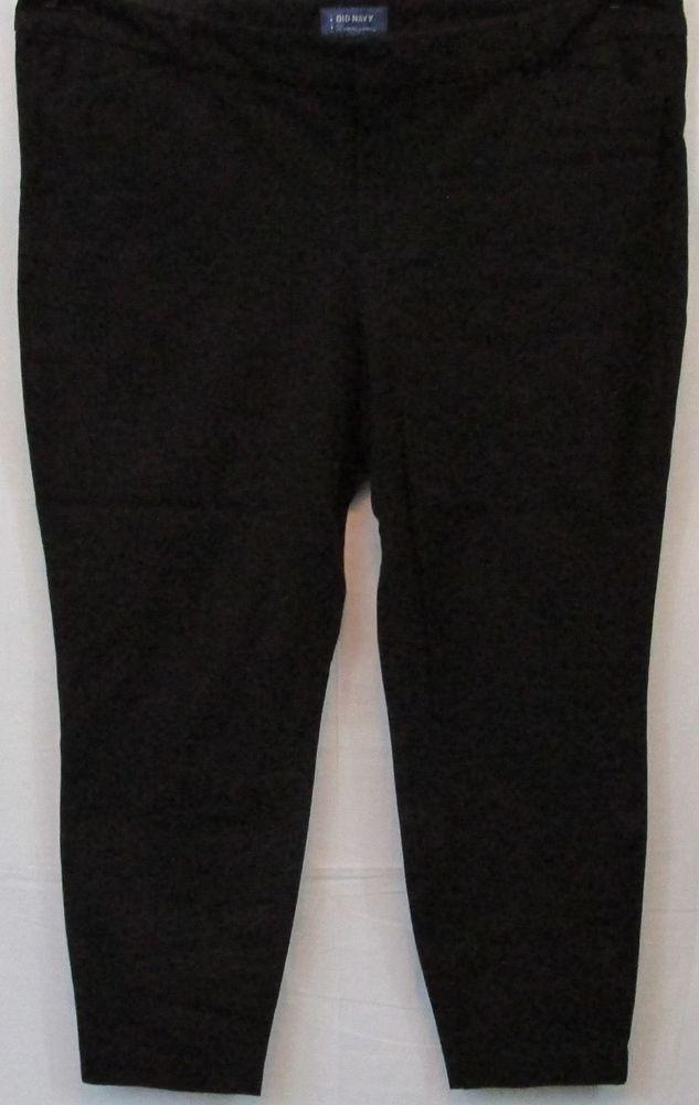 3c33e3a44502b Old Navy Black Pants Size 20 Plus Size  OldNavy  DressPants