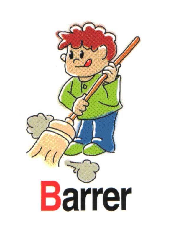 barrer | Acciones | Pinterest | Verbos, Acción y Gritando