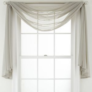 Jcpenney Marthawindow Voile Window Treatments Jcpenney