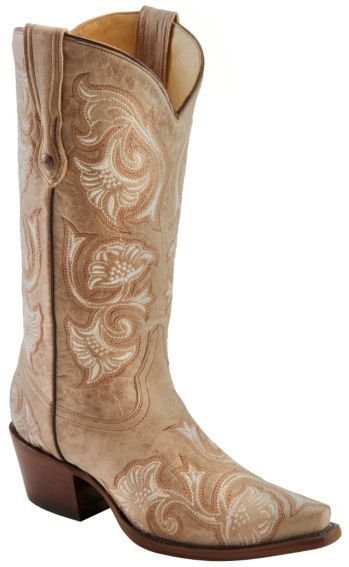 Corral Bone Floral Embroidered Cowgirl Boots Snip Toe Sheplers Cowgirl Boots Boots Wedding Boots