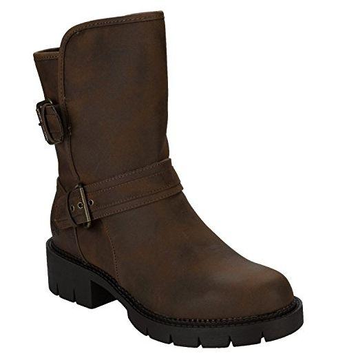 XTI , Damen Booties , braun - braun - Größe: 40