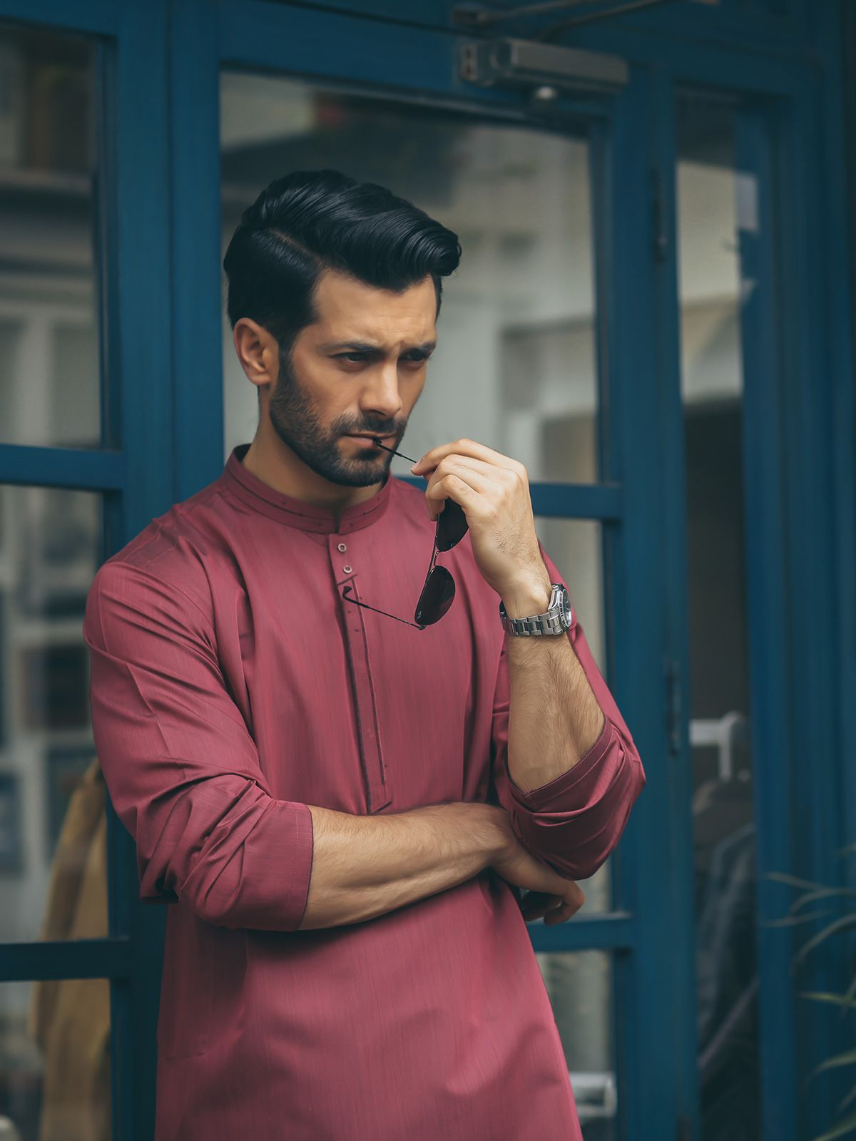 Best Man Summer Kurta Designs 2019 Collection Styleglow Com Photography Poses For Men Best Poses For Men Mens Kurta Designs