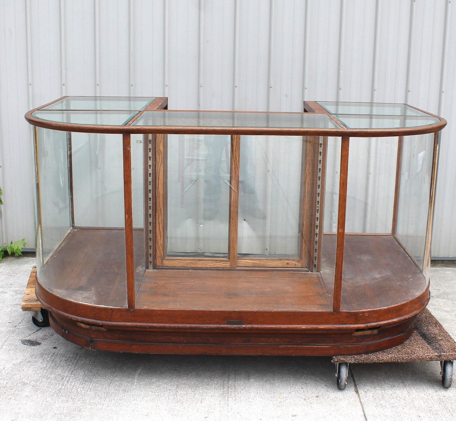 In Antiques, Mercantile, Trades & Factories, Display Cases