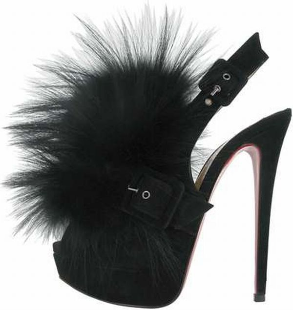 christian louboutin fur shoes 2 Christian Louboutins Fur Inspired Autumn Collection Shoes Woo Crowds