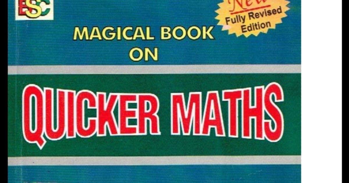 Quicker Math By M Tyra Pdf