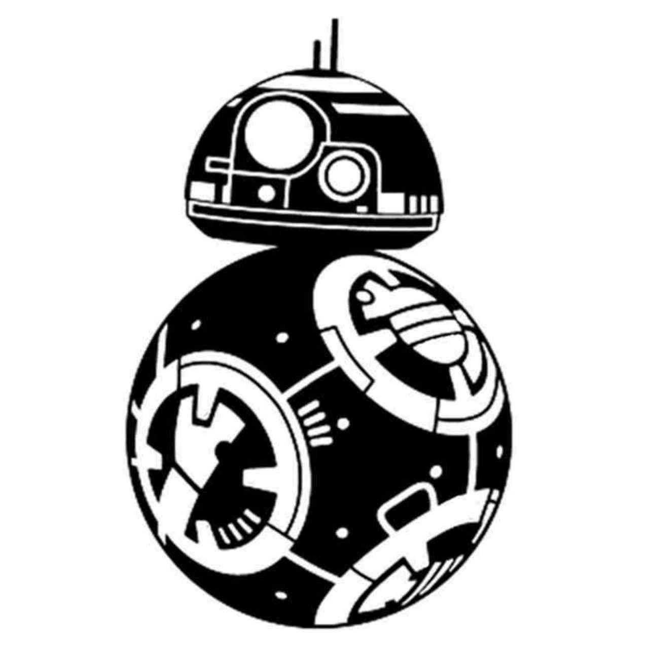 Star Wars Bb8 166 Decal Sticker