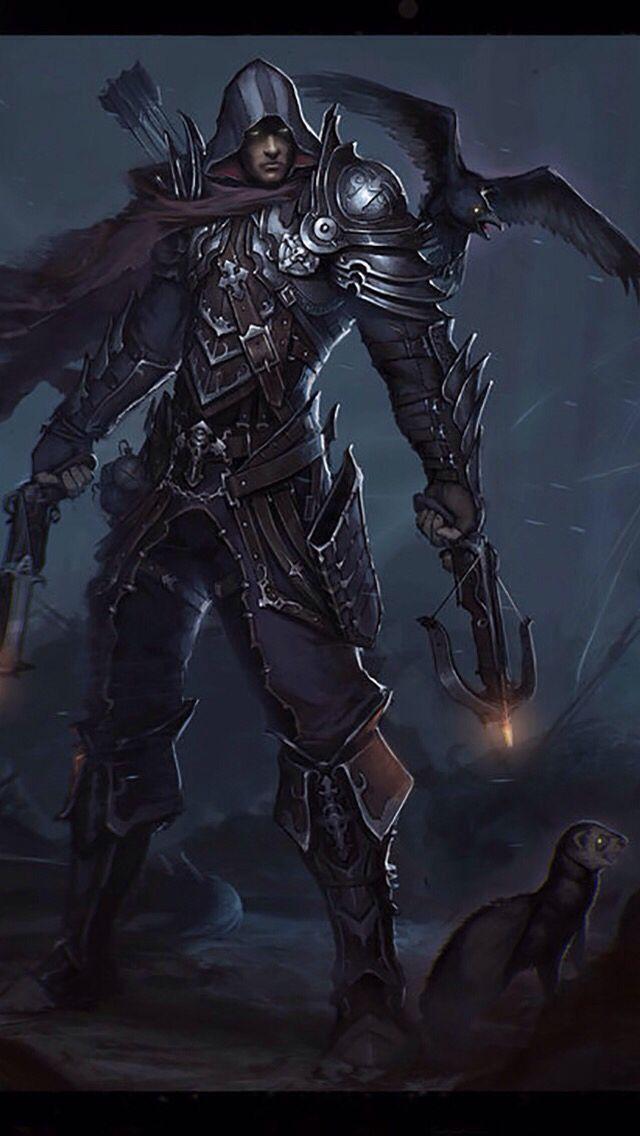 #demonhunter | The Dark Ones in 2019 | Diablo demon hunter ...  #demonhunter | ...