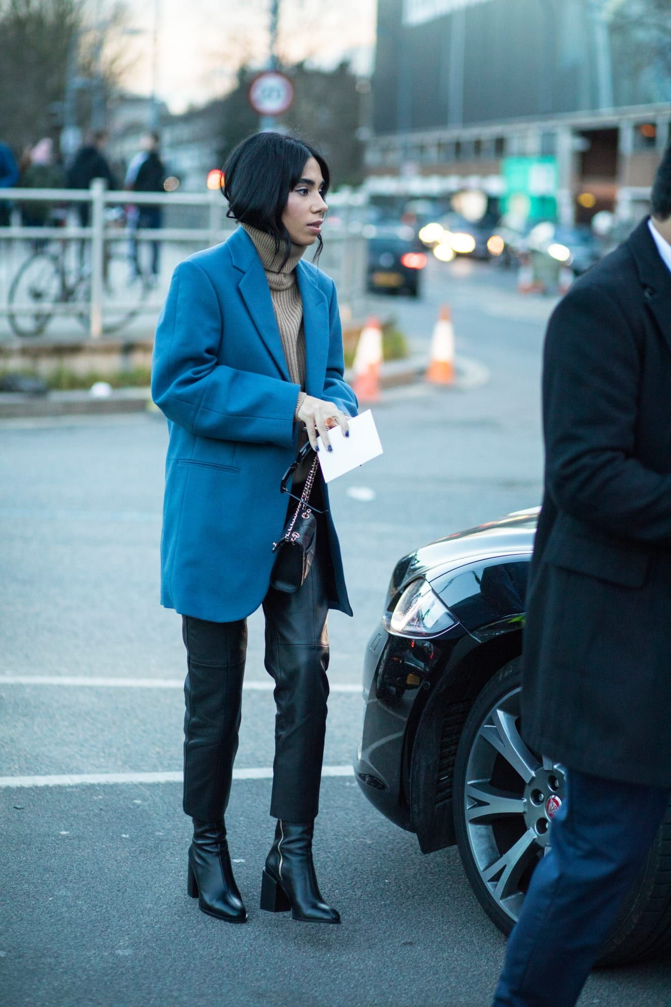 The Street Style Crowd Carried On With London Fashion Week In