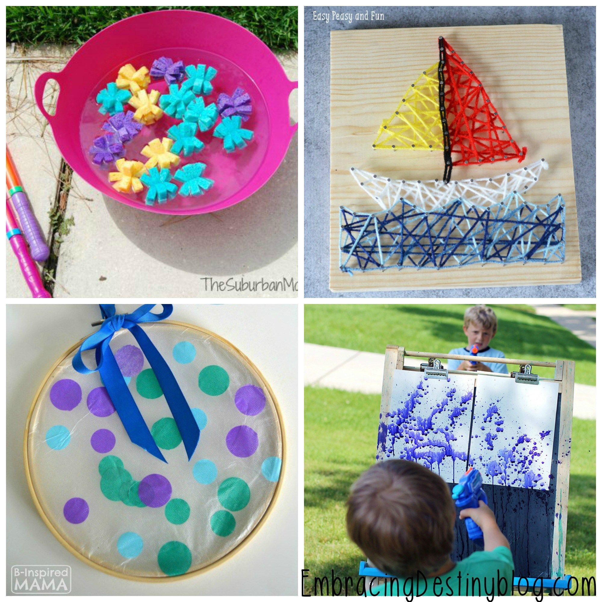 Get Inspired By These 20 Super Simple Fun Summer Arts