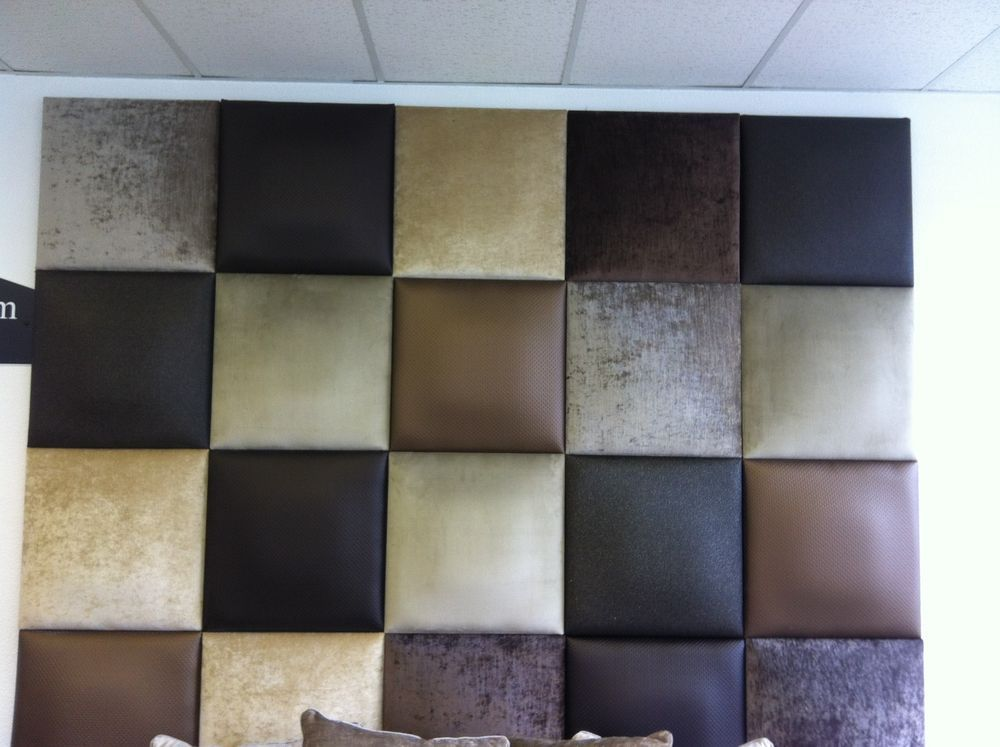 Padded Wall Panels headboard upholstered padded wall panel/coverings in fabric