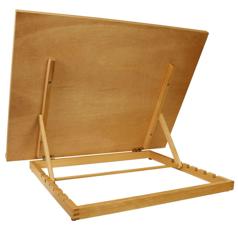 Vencer Large Adjustable Wood Artist Drawing /& Sketching Easel Board