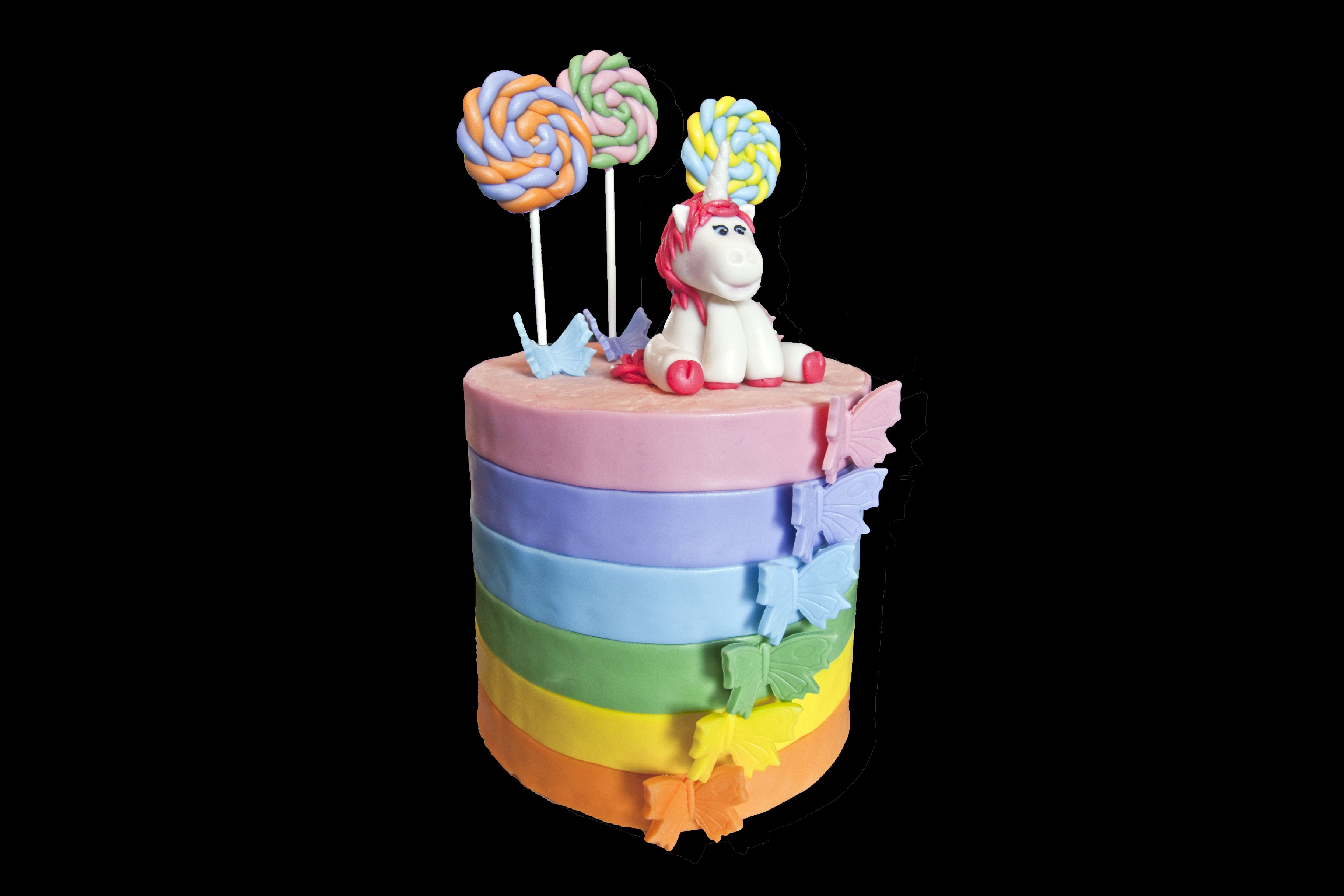 rainbow unicorn butterfly cake g teau arc en ciel papillon et licorne g teaux cakes. Black Bedroom Furniture Sets. Home Design Ideas