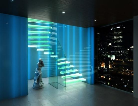 Schon 23 Ideen Für Schickes Interieur  Exklusives Treppen Design Von Siller