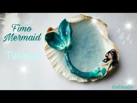 tutorial: miniature mermaid on shell (two part tutorial)