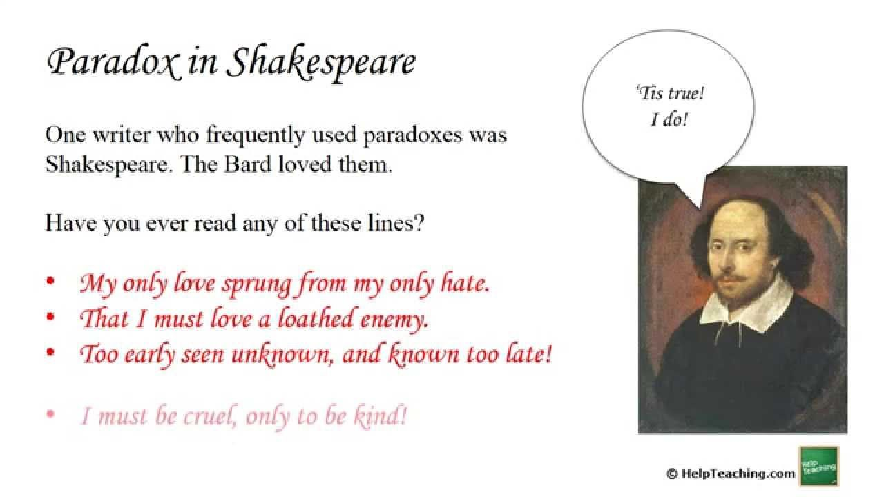 Image Result For Example Of Paradox Literature Lesson Reading The Raven Poem Context