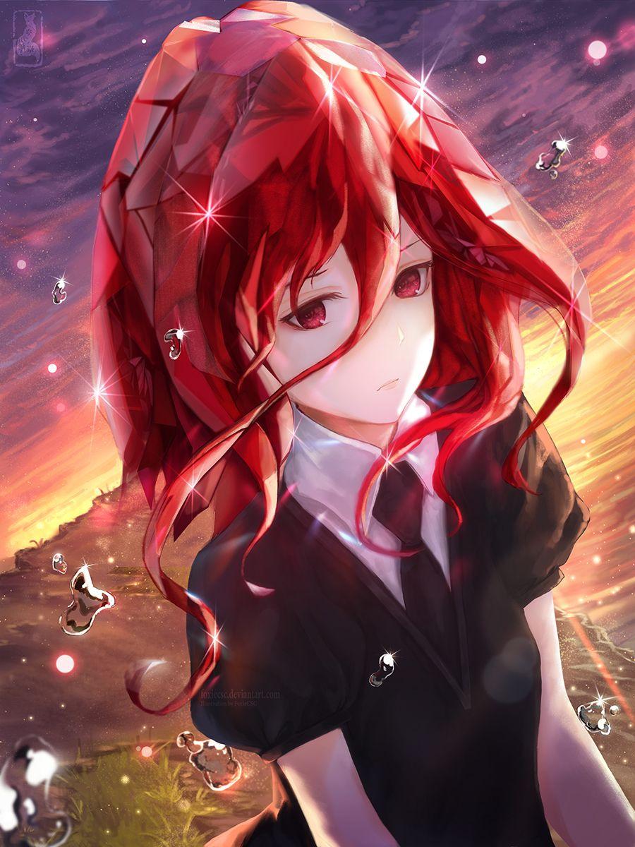 * 宝石の国 Houseki no kuni (Land of the Lustrous) Red hair