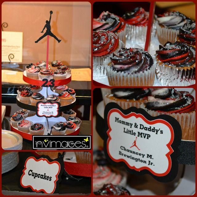 Beautiful Michael Jordan Jumpman Baby Shower Party Ideas