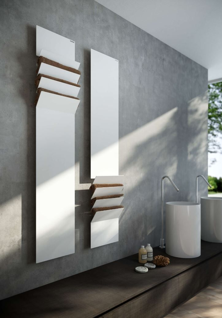 Flaps Radiators, Fireplace design and Bath - puissance seche serviette salle de bain