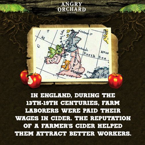 Getting paid in #hardcider? Count us in! #AngryOrchard #NationalAppleMonth…