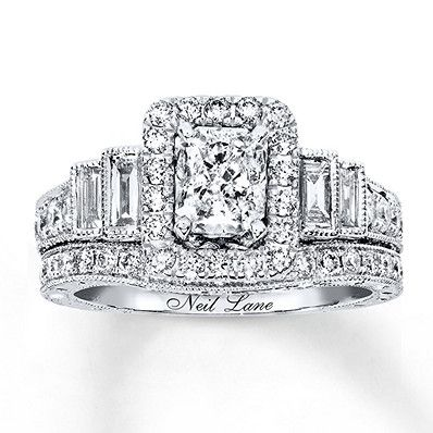 3d292ad4bd8c9c Neil Lane Bridal Set 2-1/3 ct tw Diamonds 14K White Gold | Products ...