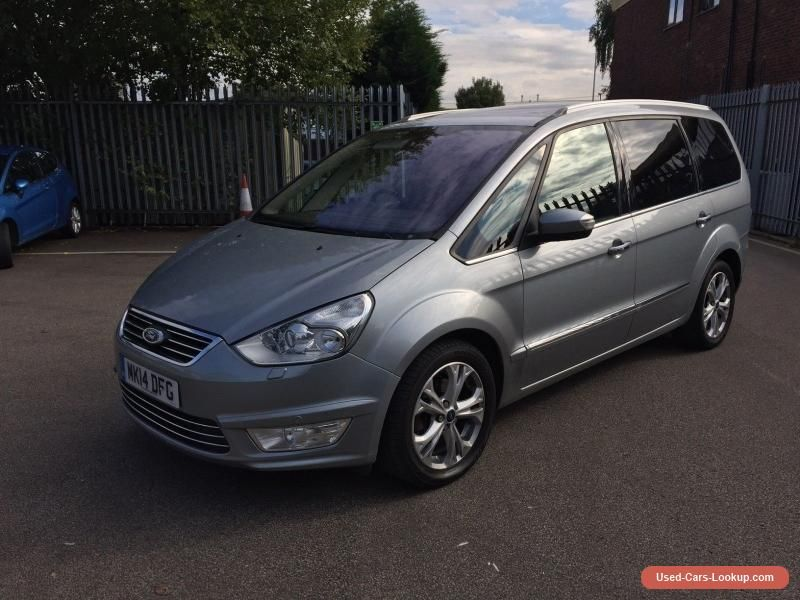 2014 Ford Galaxy Titanium X Tdci Top Of The Range Superb Car Ford