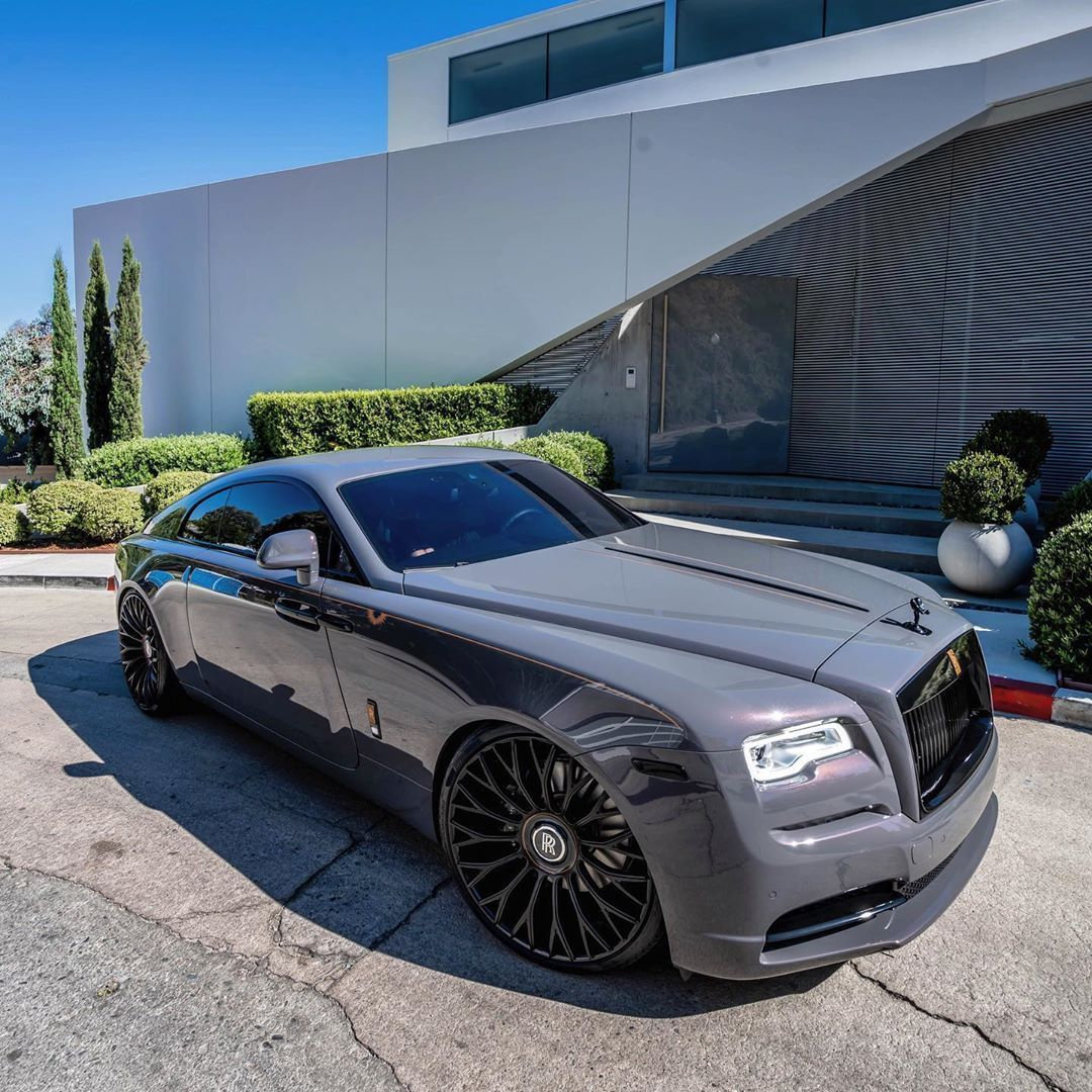 "Photo of RDB LA on Instagram: ""1 of 55 Rolls Royce Wraith, customized further by #RDBLA."""