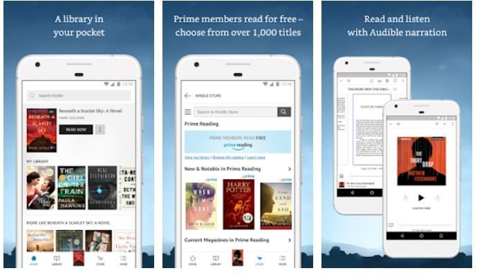 Top 10 ebook reading apps for book readers on the Android