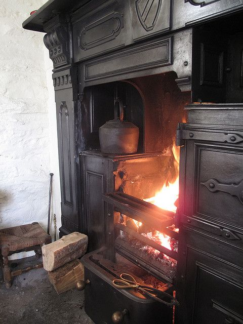 Bakehouse Interior Old Fireplace Antique Stove Hearth And Home
