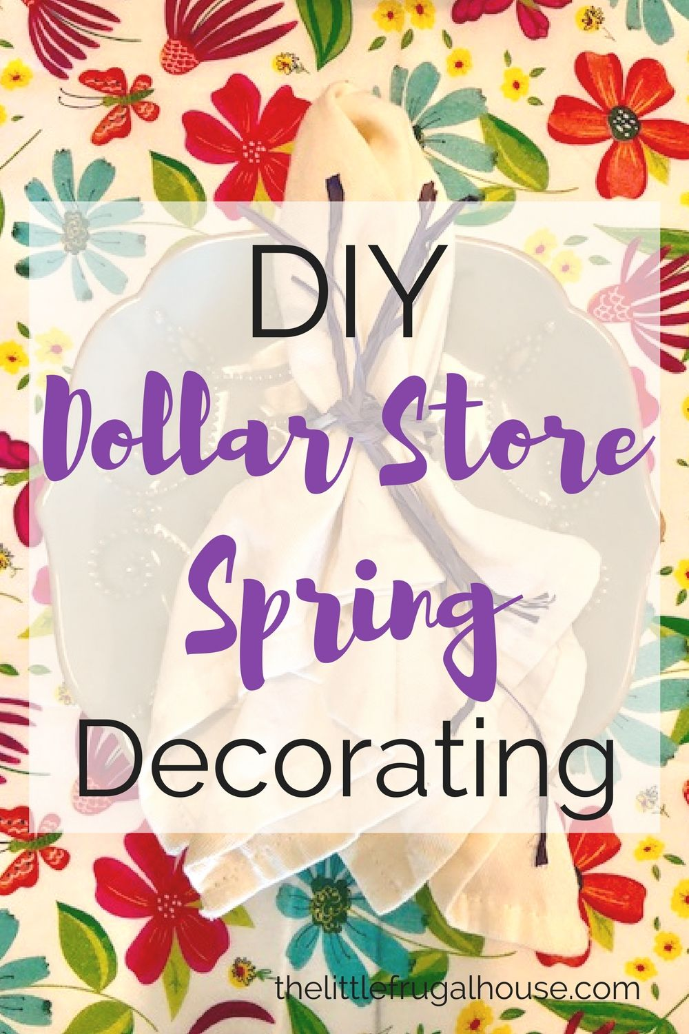 16+ Dollar store craft ideas for spring ideas in 2021