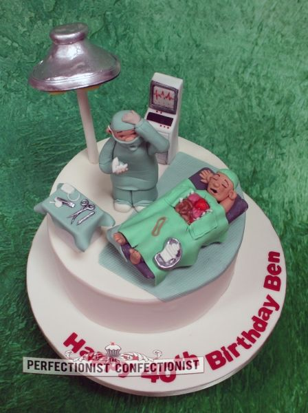 Doctor Surgeon Birthday Cake I really really enoyed making this