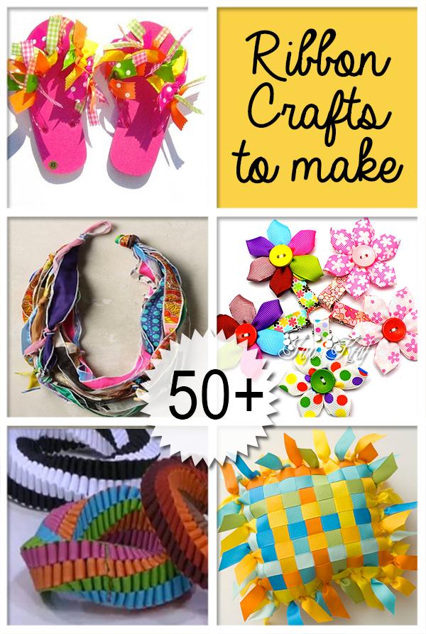 50 Plus Awesome Ribbon Crafts Ribbon Crafts Diy Ribbon Crafts