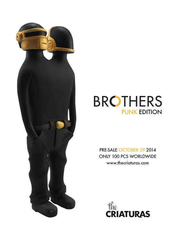 Tenacious Toys Blog: Brothers, Punk Edition by The Criaturas