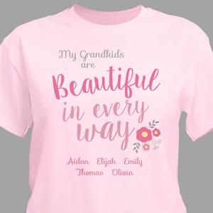 Personalizable T-Shirt | whatgiftshouldiget.com