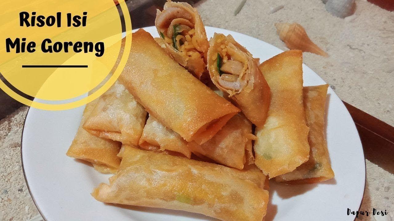 Resep Risol Isi Mie Goreng Sederhana Food Sweet Potato Sweet