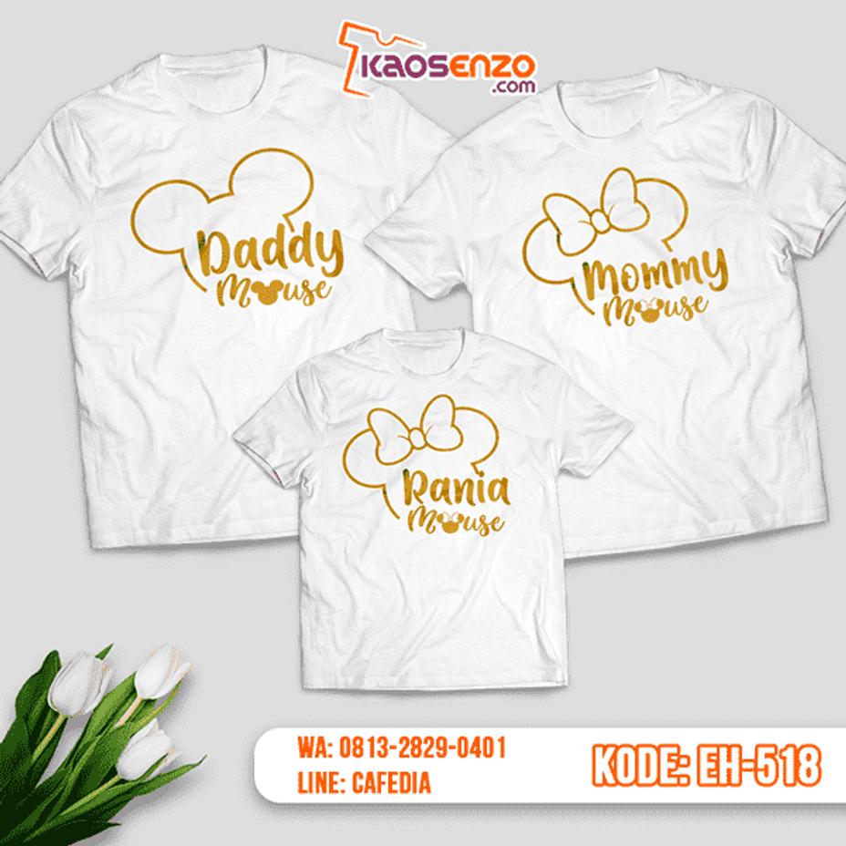 Kaos Couple Keluarga Custom Unik Best Seller Desain Kaos Mickey Mouse Keluarga Kaos Desain