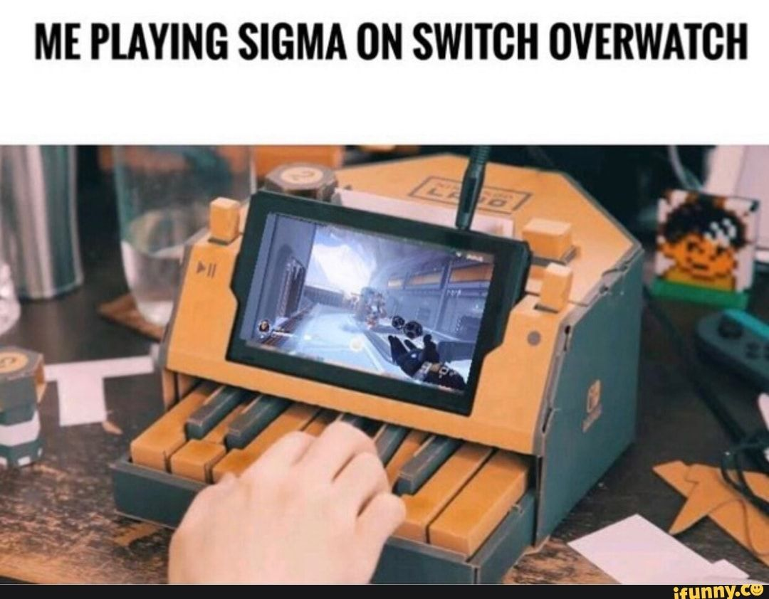Me Playing Overwatch