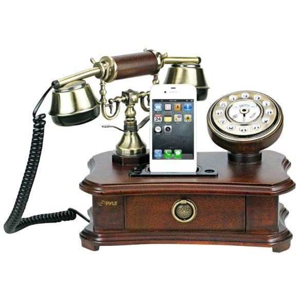 Mezclando lo viejo y lo nuevo #teléfono #iphone #vintage #old #modern #phone