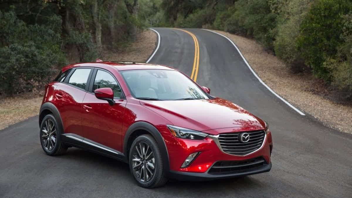 The Mazda Cx 3 Comes With A Crisp Shifting Six Speed Automatic