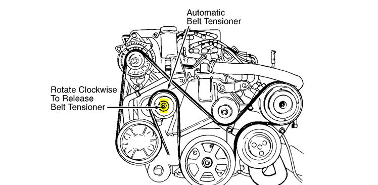 2010 Toyota Hilux Fan Belt Diagram