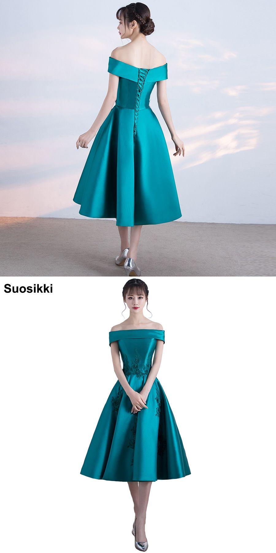7503c9c425f Short prom dress 2018 boat neck a line formal evening dresses embroidery  fata plus size robe de soiree longue